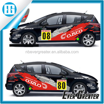 Sports car stickers car body sticker design car stickers full body