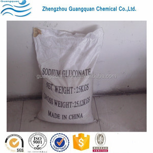 Textile industry chemicals 99% sodium gluconate 98%
