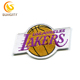 Special Custom Design Patch For NBA Baskeball Los Angeles Lakers Embroidery Patch