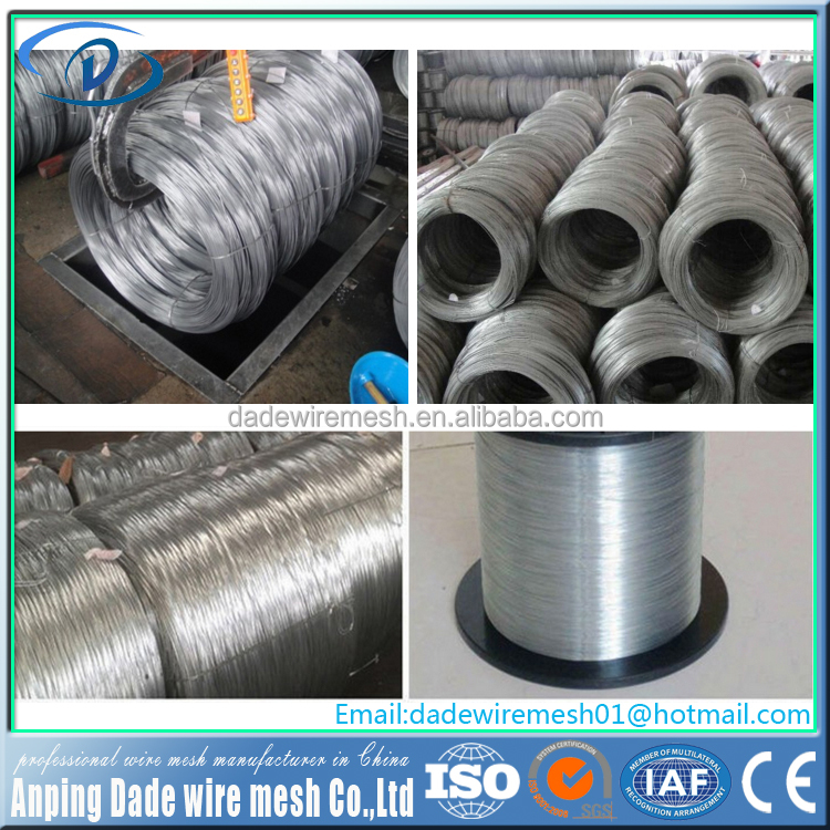 Factory Manufacturer wholesale 6 gauge low carbon galvanized wire price