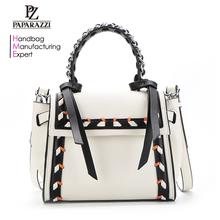 5996460a6f 8567 Guangzhou Paparazzi Brand Factory Price Unique Original Designer  Ladies Handbag for 2018 spring