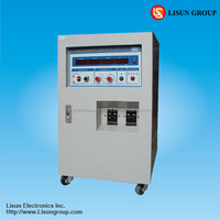 LSP-500VAR Programmable AC AC Power Source uses High speed 12 bits A/D sampling technology