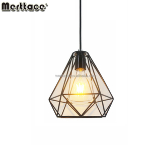 2018 New Pendant Lights Vintage Industrial Modern Pearl Cages Drop Bird Cage Chandelier Pendant Lights