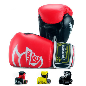 2019 latest fashion 5 colors unisex professional fight pu leather training pro boxing gloves