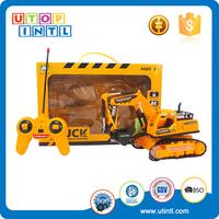 Remote control 4CH rc construction toy trucks coke can mini rc car