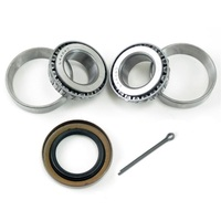 K1-100 Trailer Wheel Bearing Kit L44643/10 L44643/10 Bearings 12192TB Seal for 2000 lb Axles