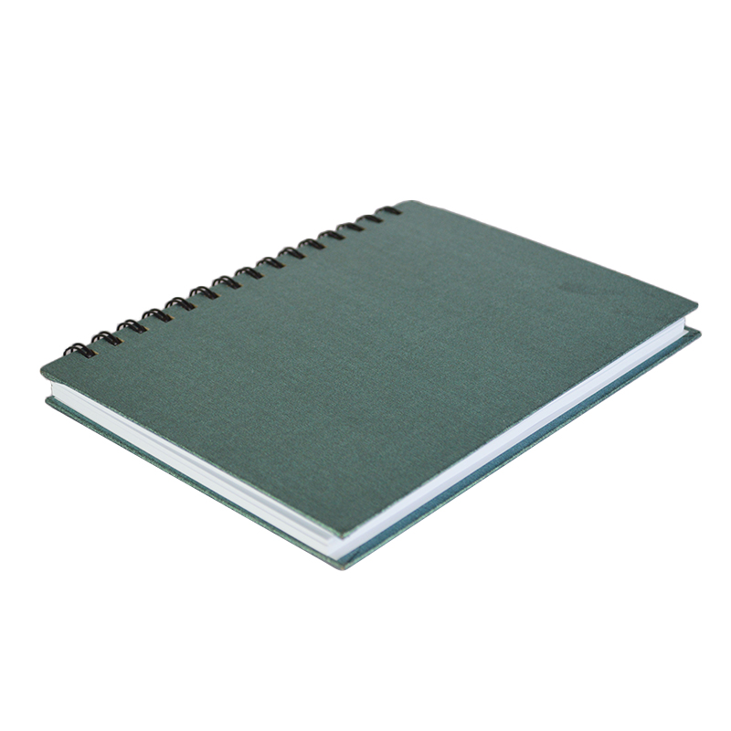 China alibaba office stationery pages custom printed spiral notebook