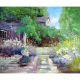 Best selling wall art pop picture flower landscape canvas oil painting