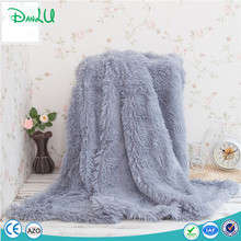 Heavy Thick Fleece Oversized Plush Sherpa Fleece Knit Tv Sofa Throw Warm Blanket For Winter