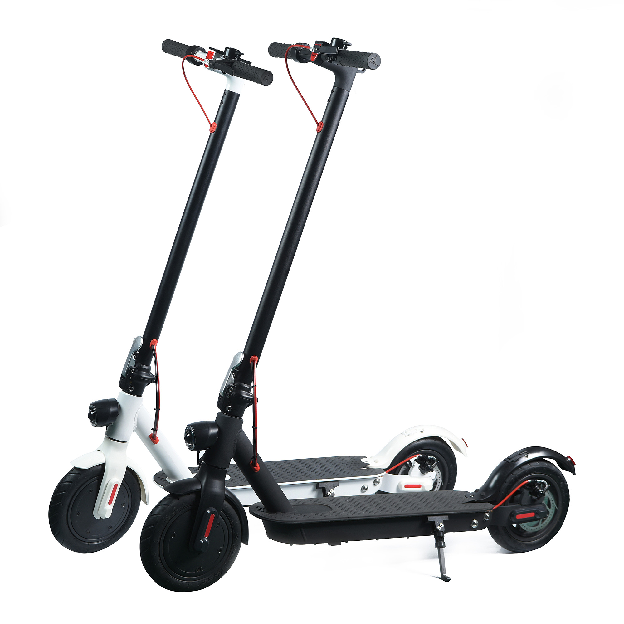 350W 36V 10.4Ah CE lithium battery better than M365 scooter cheap adults electric lightest micro kick scooter with seat, Black