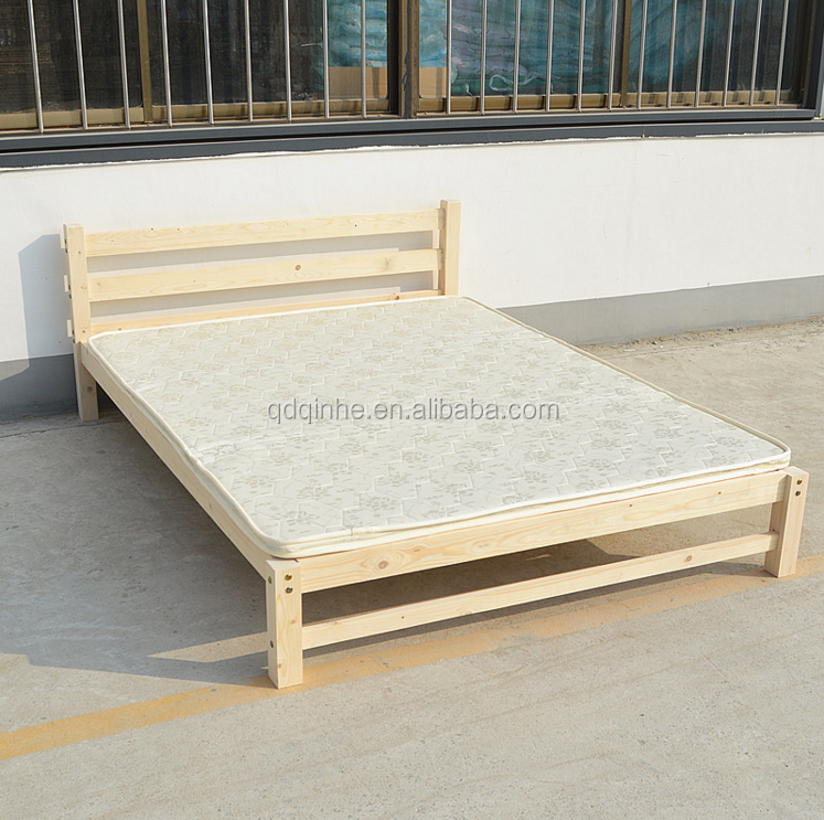 Hotel Solid Wood Double Japanese Style Tatami Bed Hotel Bedroom ...