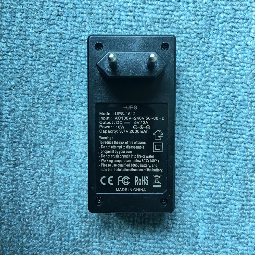 Euro Plug Adapter MINI UPS Attendance machine network