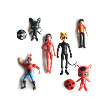 custom design small plastic cartoon character figurines