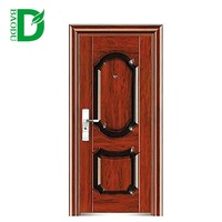 Baodu brand steel doors prices security exterior outside steel door
