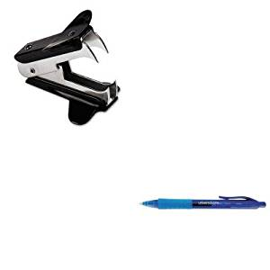 KITUNV00700UNV39913 - Value Kit - Universal Clear Barrel Roller Ball Retractable Gel Pen (UNV39913) and Universal Jaw Style Staple Remover (UNV00700)