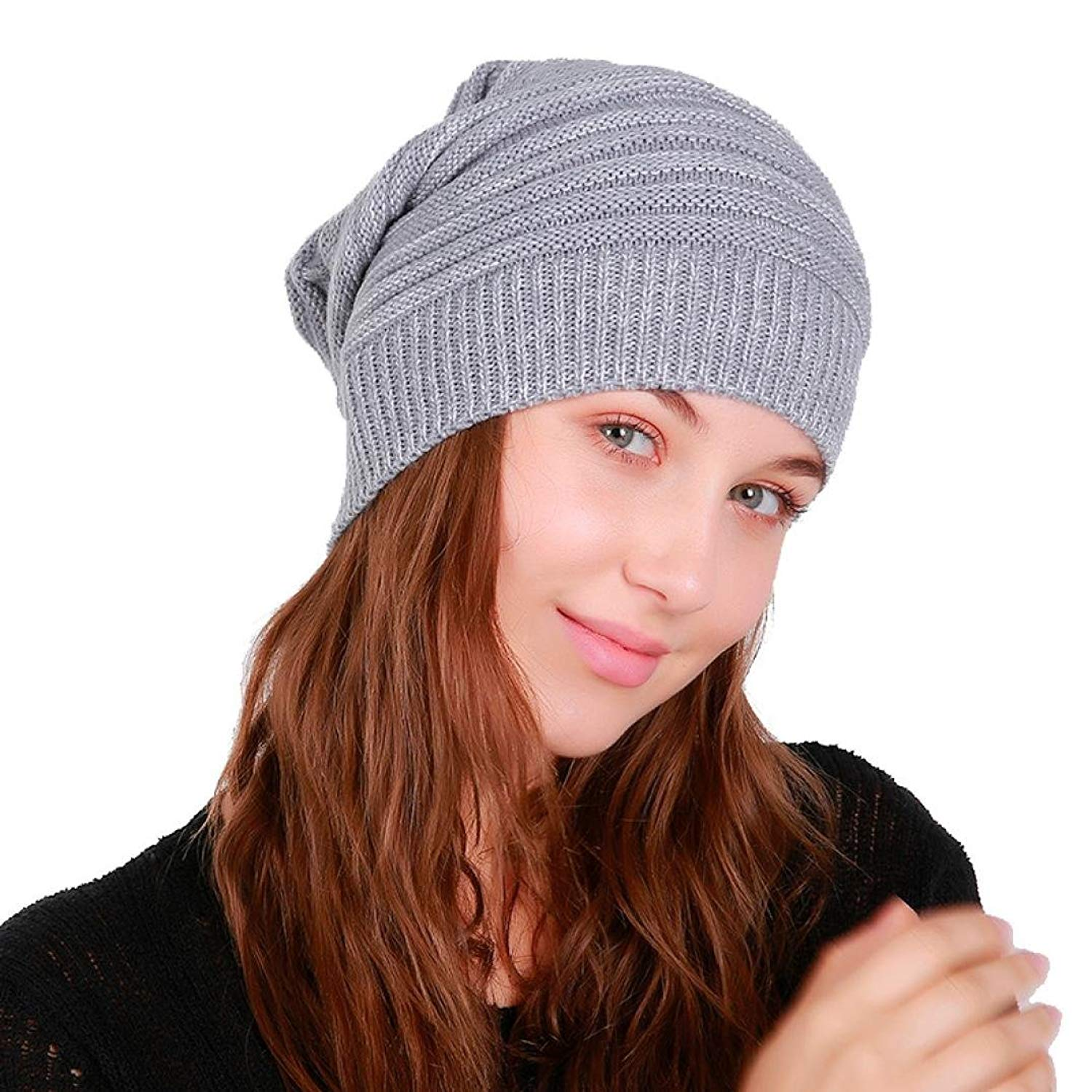3cdf9222f49b7 Get Quotations · Hunputa Womens Hat Winter