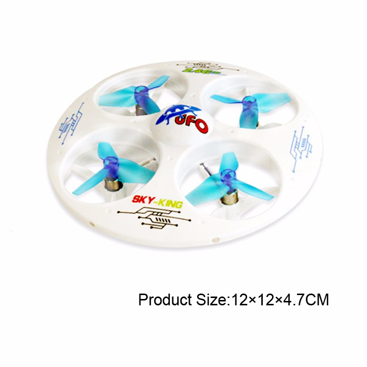 Kid toy flying ufo drone with light
