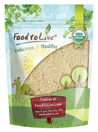 Organic Black Maca Powder by Food to Live (Raw Ground Maca Root, Non-GMO, Kosher, Fine Flour, Bulk) (2 Pounds)
