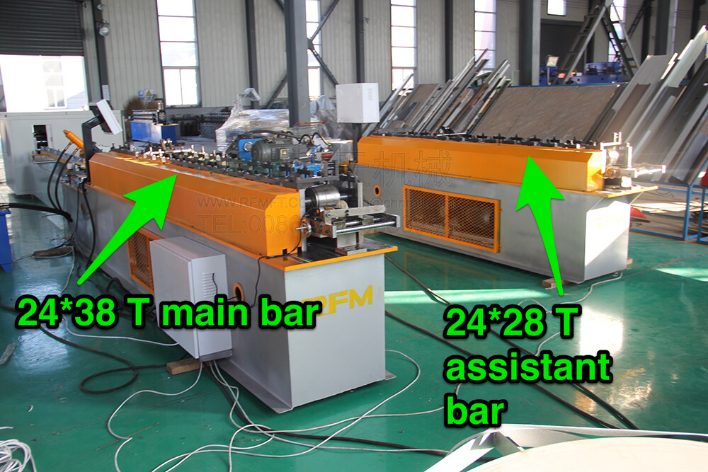 T bar main bar roll forming machine (14)