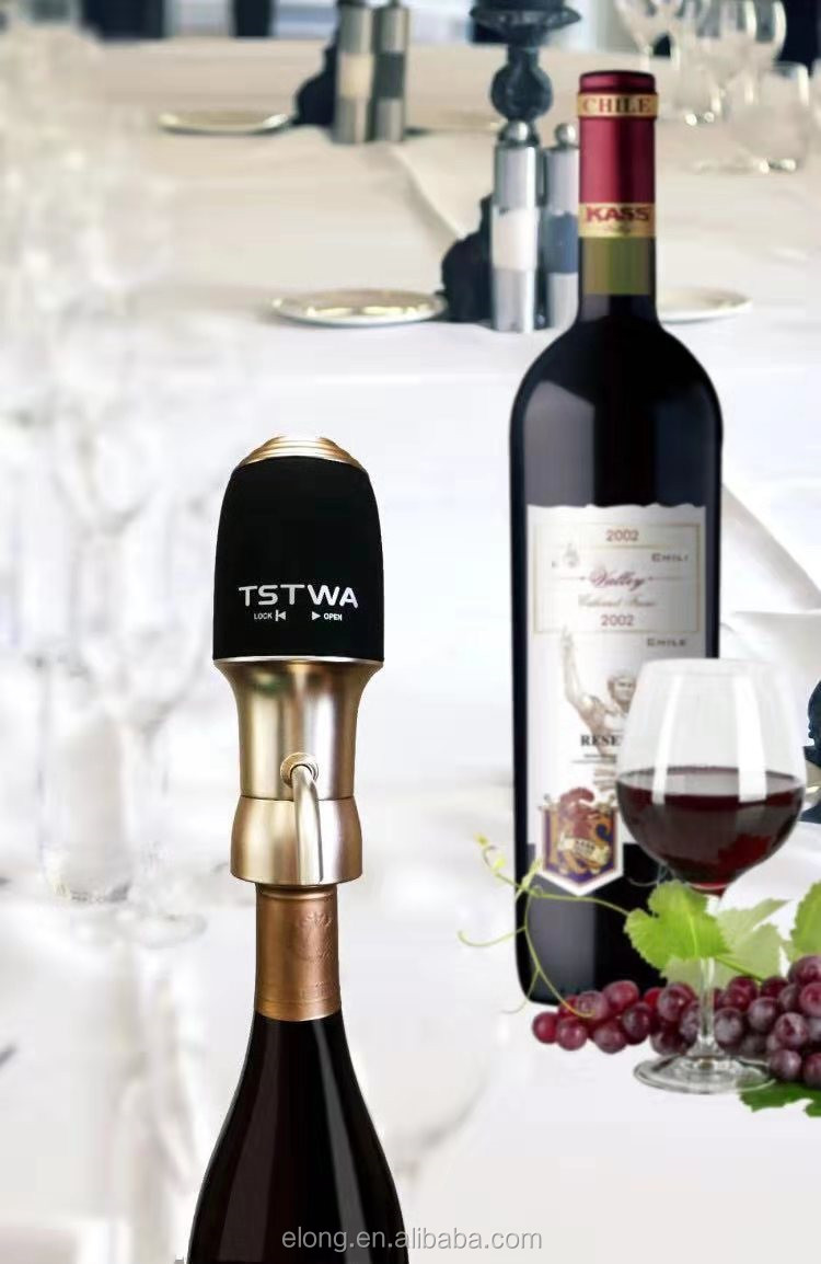2019 New Design Air Aerator, Stainless Steel, Wine Aerator Gift Box With Great Price