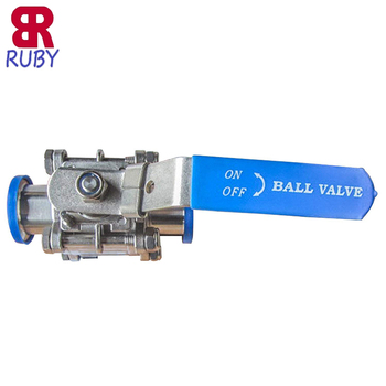 "Stainless Steel 304 1"" Sanitary Ball Valve"