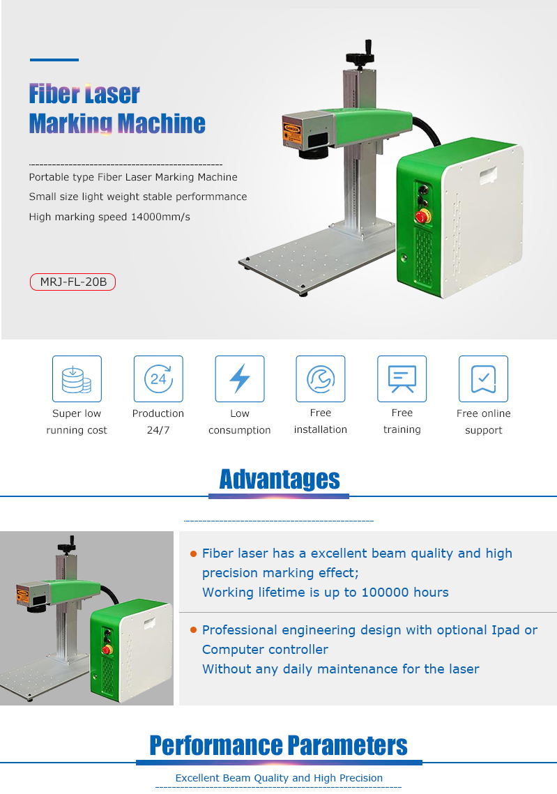 MRJ-laser gold and silver laser engraving machine with CE FDA certificates