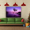 Most popular sunset beauty landscape wall painting with polyester