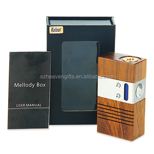 In stock Eternal Melody 40w temperature control mod Melody wood boxer mod