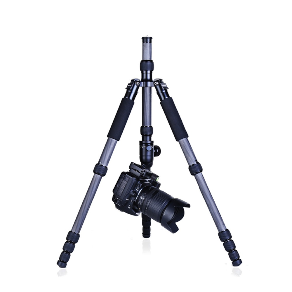 "Manbily CZ-305 5 Sections 61.4"" Carbon Fiber Tripod & B-1 Ball Head"