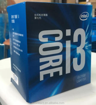 Intel Core i3 7 series Processor I3 7100 I3-7100 Boxed processor CPU LGA 1151-land FC-LGA 14 nanometers Dual-Core
