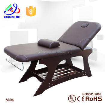 nail supplier salon furniture wood massage bed (km-8204)