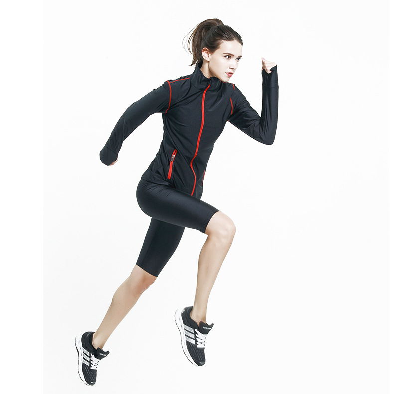 high quality fat burning sports yoga wear sweat suits for women Y269