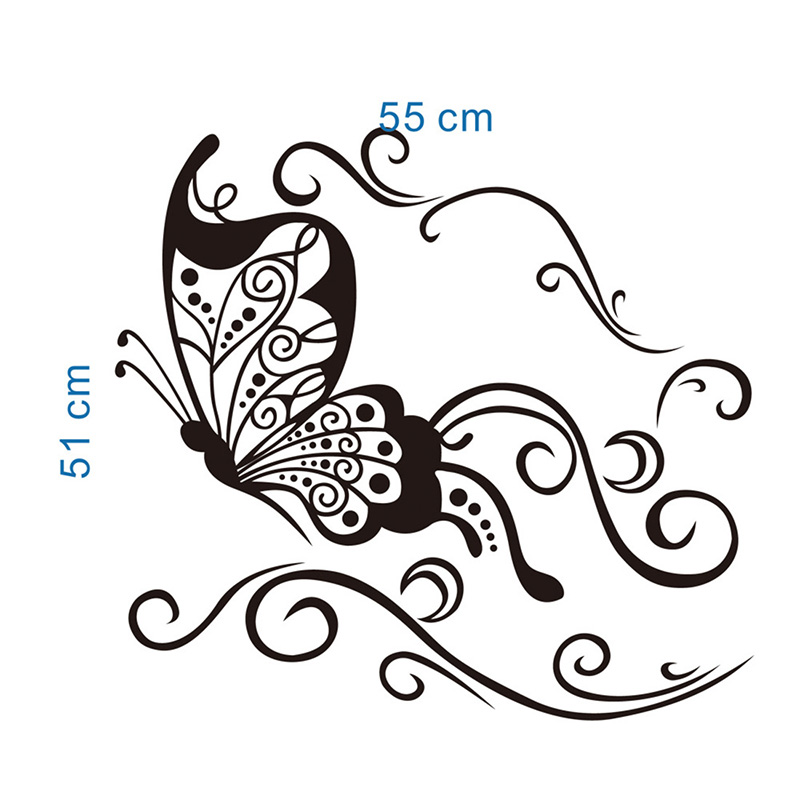 Flower Vine Wall Stickers Chinese Goods Catalog