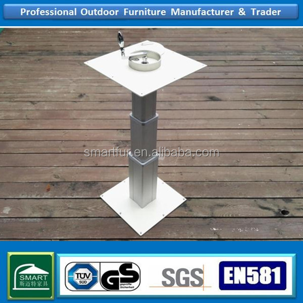 Tatami height adjustable Cast iron table base very strong and fashion