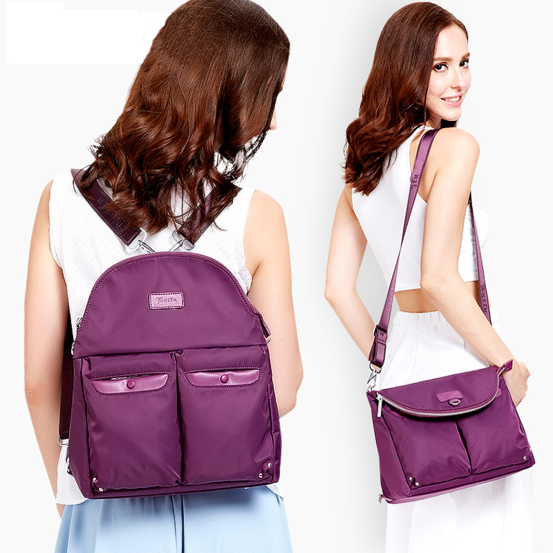 New style backpack multi-functional dual-use Bag for women