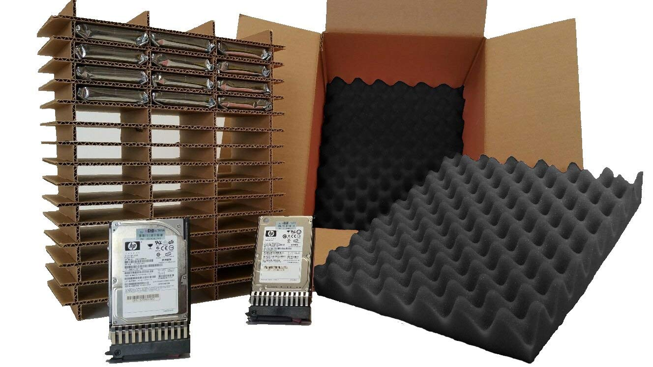 "Hard Drive Shipping Box - for 2.5"" Hard Drives with Trays/Caddys (Pack of 2 Boxes)"