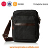 Fashion Men's Small Messenger Shoulder Cross Body Bags Canvas Bags Black