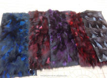 factory price wholesale natural fox fur blanket China real fox fur plate for coat