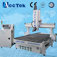 Low cost router kit cnc / electric wood carving tools / 4 axis cnc router 1325