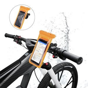 2019 New Arrivals Multiple Usage Scenes Double Protection Waterproof Mobile Holder For Bike