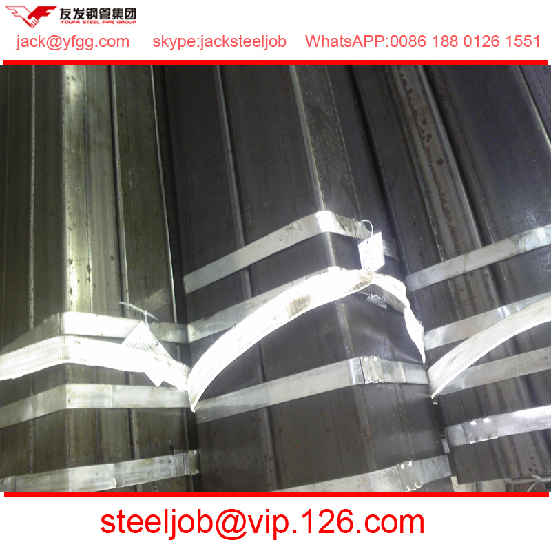 150 tube pipe black iron square