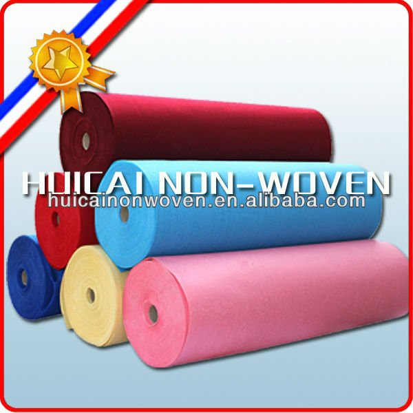 various thickness non woven polyester puncture felt factory
