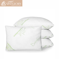Luxury Removable Breathable & Cool Queen size Shredded Memory Foam Pillow