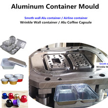 mulit-cavity aluminium foil container mould die with CE