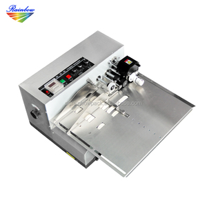 Automatic date code printing machine for printing expiration date