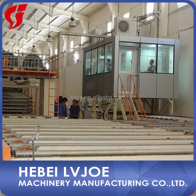gypsum sheet production line high automation