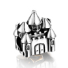 LZESHINE Fashionable jewelry 925 Sterling silver mini old castle modelling bracelet charms
