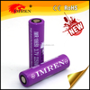 IMREN high quality rechargeable 18650 lithium ion battery cell 2250mAh 40A 3.7V high drain battery