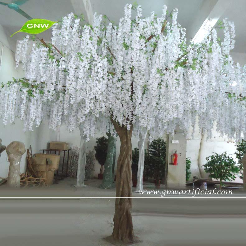 Gnw bls080 10ft grandes wisteria flores blancas - Arboles artificiales grandes ...