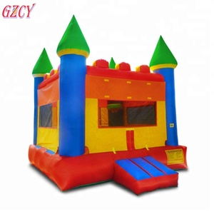 Indoor/outdoor used playground inflatable jumping castles bouncer house for sale
